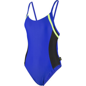 speedo Hydractive Maillot de bain 1 pièce Femme, blue/black